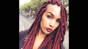 hairstyles youtube big box braids hairstyles youtube throughout awesome large box