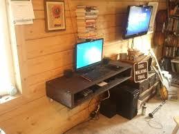 Simple Diy Desk by Floating Desk With Storage Ideas Ideal Floating Desk With