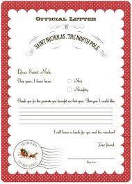 official letters from santa best 25 letter to santa ideas on letter to santa