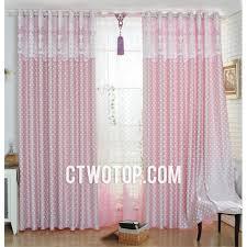 Cheap Girls Curtains Cute Cheap Polka Dots Baby Modern Pink Window Curtains