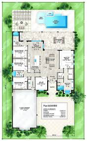 mediterranean house plans with courtyard house plans with pools house plan with indoor pool modern house