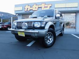mitsubishi pajero japan mitsubishi pajero mitsubishi pajero 1996 for sale japanese used cars car tana com