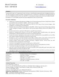 Sap Abap Sample Resume by Sap Resumes Sample Sap Abap Resume Sample Resume Cv Cover Letter