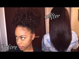 how to get 3c hair 3c 4a natural hair how i straighten flat iron youtube