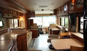 country coach magna 43 interior livingroom reyes rv rental