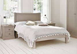 Wooden Bed Frame Double by Camden Pebble Wooden Bed Frame Painted Wood Wooden Beds Beds