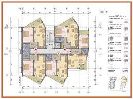 architectural plan sea grace apartments for sale in bulgaria aparthotel