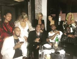 post vma dinner with beyoncé jay z kanye west and kim vogue