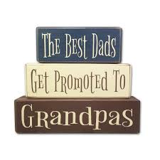 fathers day personalized gifts gift the best dads get promoted to grandpas apple