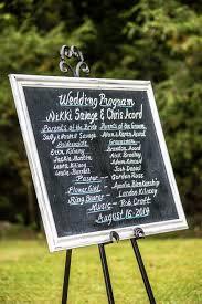 Country Wedding Programs Pink U0026 Gray Barn Wedding Rustic Wedding Chic