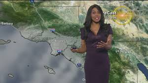Weather Map Los Angeles by Markina Brown U0027s Weather Forecast Jan 8 Youtube