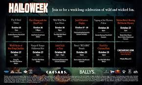 halloweek caesars u0026 bally u0027s atlantic city caesars casino hotel