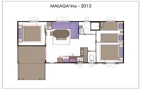 location mobil home 3 chambres location mobil home malaga 6 personnes 3 chambres 30m