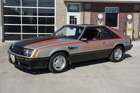 1979 ford mustang pace car black silver 1979 ford mustang pace car for sale mcg marketplace