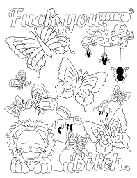 humor coloring pages f bomb coloring book by mariaoglesbyart