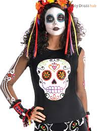 Halloween Costumes Mexican Ladies Mens Dead Halloween Mexican Fancy Dress Costume
