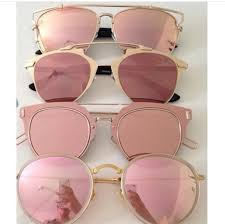 rose gold l shade sunglasses sunnies pink sunglasses mirrored sunglasses round