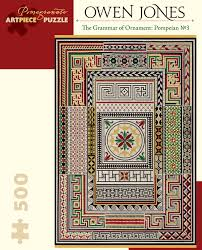 owen jones the grammar of ornament pompeian no 3 500
