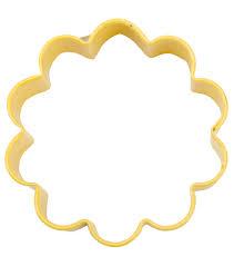 wilton metal cookie cutter 3 yellow flower joann