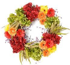 Silk Flower Depot - cabuya daisy silk flower decorative door wreath the wreath depot