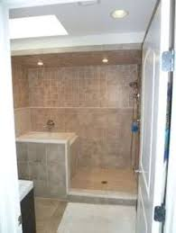 Shower And Tub Combo For Small Bathrooms - interesting way to separate shower and bath in a small bathroom