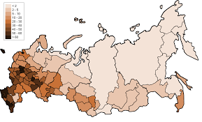 Russia Map Image Large Russia by List Of Cities And Towns In Russia By Population Wikipedia