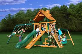 Backyard Playground Slides Gorilla Playsets Tic Tac Toe Spinner Panel Walmart Com