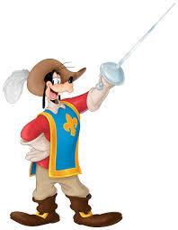 musketeers goofy disney characters