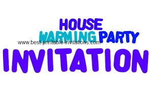 printable house warming party invitations