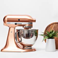 custom metallic series 5 qt tilt head stand mixer zola