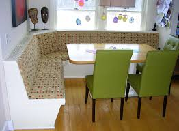 interesting kitchen nook design showcasing small dining sets with