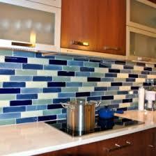 Blue Backsplash Tile by Kitchen Awesome Blue Tile Backsplash Kitchen Design Blue Subway