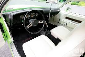 Dodge Challenger Interior - 1974 dodge challenger one sweet swap rod network