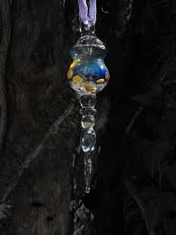best collections of glass icicle christmas tree ornaments all