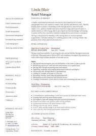 retail resume template the best letter sample
