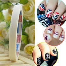 aliexpress com buy 12pcs nail art tips adhesive tape rolls wrap
