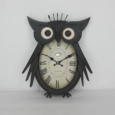big eye owl unique clocks singapore