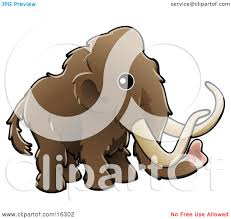 baby brown woolly mammoth tundra mammoth