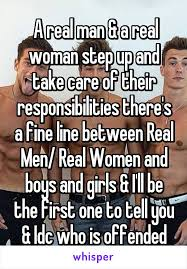 A Real Man Meme - a real man a real woman step up and take care of their