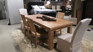 autumn dining solid wood construction butcher block acacia solid wood construction butcher block acacia lumber and cast iron tension rods