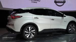 nissan murano white world premiere for 2016 nissan murano hybrid at auto shanghai 2015