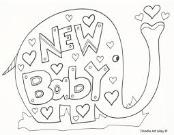 baby baby coloring pictures