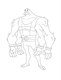 ben 10 coloring pages bloxx coloringstar