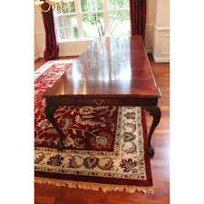mahogany dining room set henredon rittenhouse mahogany dining room table chairish
