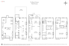 Floor Plan Bank by 74 Bank St New York Ny 10014 Core