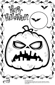 scary halloween coloring pages to print archives best coloring page