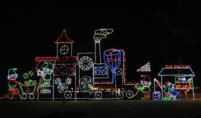 christmas moody gardens winter wonderland lights decoration