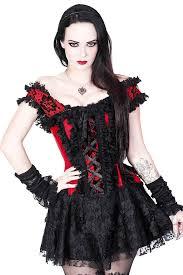 Red Black Corset Dress Vg 1954 59 99 Angel Clothing Gothic