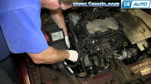 how to install replace serpentine belt tensioner 3 4l 2000 05