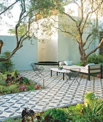 Outside Tile For Patio The New Outdoor Rug Perfect Patterns For Tile Patios Gardenista